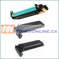 Xerox 113R00671 Compatible Drum Unit 1PK / 006R01278 Compatible Black Compatible Toner Cartridges High Yield 2PK for Xerox WorkCentre 4118