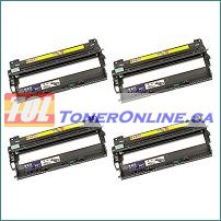 Brother DR-210CL Compatible Drum Units (Black, Cyan, Magenta, Yellow) 1 Set for HL-3040CN MFC-9120CN