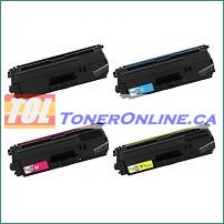 Brother TN431 / TN-431 Compatible Toner Cartridges 4 Color Set for HL-L8260CDW, MFC-L8610CDW
