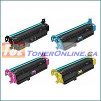 HP CF360X-CF363X (508X) High Yield Compatible Toner Cartridges 4 Color Set for Color LaserJet Enterprise M533x, M552dn
