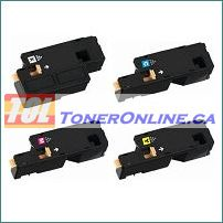 Xerox 106R02756-106R02759 Compatible Toner Cartridges 4 Color Set for Phaser 6020, 6022 WorkCentre 6025, 6027