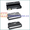 Brother TN670 / TN-670 Compatible Toner 2PK and Brother DR600 / DR-600 Compatible Drum Unit 1PK