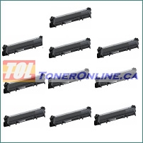 Brother TN-630 TN630 / TN-660 TN660 High Yield Compatible Toner Cartridge 10PK for Brother HL-L2380DW, MFC-L2720DW