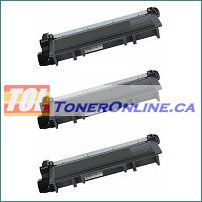 Brother TN-630 TN630 / TN-660 TN660 High Yield Compatible Toner Cartridge 3PK for Brother HL-L2380DW, MFC-L2720DW