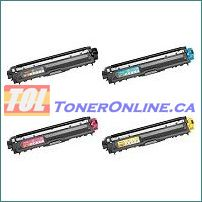 Brother TN221 TN-221 / TN225 TN-225 Compatible Toner Cartridge 4 Color Set for HL-3170CDW HL-3170CW