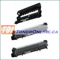 Brother DR630 / DR-630 Compatible Drum Unit 1PK and TN-630 TN 630/ TN-660 TN660 Compatible Toner Cartridge 2PK for Brother HL-L2380DW, MFC-L2720DW