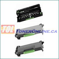 Brother DR820 / DR-820 Compatible Drum Unit 1PK and TN880 / TN-880 Compatible Toner Cartridge 2PK for Brother HL-L6200DW, MFC-L6700DW
