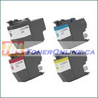 Brother LC3029 Extra High Yield Compatible Ink Cartridges 4 Color Set for MFC-J5830DW, MFC-J5830DWXL