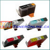 Canon BCI-6 and BCI-3e Compatible Ink Cartridge Set (Black and color) 5PK color set for i860 PIXMA iP4000