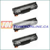 Canon 9435B001AA (Canon 137) Black Compatible Toner Cartridge 3PK for Canon ImageClass MF212w