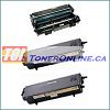Brother TN570 TN-570 / TN540 TN-540 Compatible Toner 2PK and Brother DR510 / DR-510 Compatible Drum 1PK
