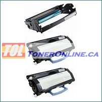 Dell 2330 (330-2650) Compatible Toner Cartridges 2PK and Compatible Drum Unit 1PK for Dell 2330d, 2330dn