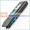 Dell 593-BBBT (488NH) Cyan Compatible Toner Cartridge for Color Laser C2660dn, C2665df