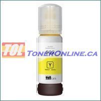 Epson T502420 T502 Yellow (Dye) Ultra High Capacity Compatible Refill Bottle Ink for EcoTank ET-2760