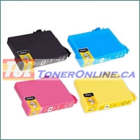 Epson T220XL120-T220XL420 T220XL1-T220XL4 High Yield Compatible Ink Cartridge 4 Color Set for Expression XP-320, XP-420