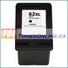 HP 62XL C2P05AN Black High Yield Remanufactured Ink Cartridge for Envy 5640, 5642