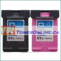 HP 65XL Remanufactured Ink Cartridge for Deskjet 2652, 2655, 3720