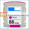 HP 88XL C9392AN Magenta High Yield Remanufactured Ink Cartridge for OfficeJet Pro K5400 L7700