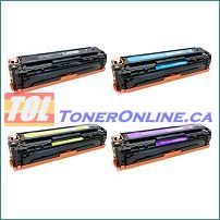 HP  CF210A - CF213A Compatible Toner Cartridge 4 Color Set for LaserJet M251nw M276nw