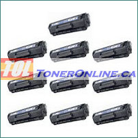 HP Q2612A Black Compatible Toner Cartridge 10PK for LaserJet 1010 3055