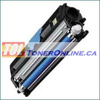 Konica-Minolta A0V3 0HF 1600W Cyan Compatible Toner Cartridge for Magicolor 1650EN 1680MF