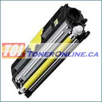 Konica-Minolta A0V3 06F 1600W Yellow Compatible Toner Cartridge for Magicolor 1650EN 1680MF