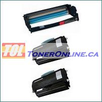 Lexmark E260A11A E260A21A Compatible Toner 2PK and Lexmark Compatible Drum E260X22G 1PK for E260 E360