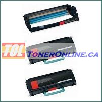 Lexmark X264H11G X264H21G Compatible Toner 2PK and Lexmark Compatible Drum E260X22G 1PK for X264 X364