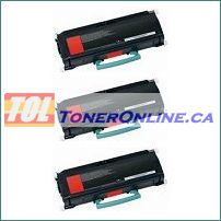 Lexmark X264H11G X264H21G Black Compatible Toner Cartridge 3PK for X264DN X363DN