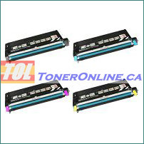 Lexmark X560N High Yield Compatible Toner Cartridge 4 Color Set for X560n