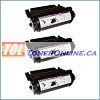 Lexmark 12A5840 Compatible Toner Cartridges for Optra T610, T612, T614 3PK