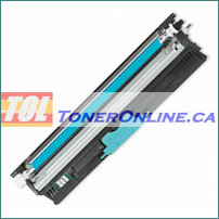 Okidata 44250715 Cyan High Yield Compatible Toner Cartridge for C110 C130N