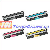 Okidata 44250713-4420716 Compatible Toner Cartridge 4 color Set for C110 C130N