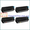 Okidata 44315304-44315301 Compatible Toner Cartridge 4 Color Set for Okidata C610n