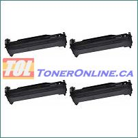 Okidata 43460201-43460204 Compatible Drum Units Set for C3400