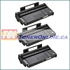 Ricoh 407165 Black Compatible Toner Cartridge 3PK for Aficio SP 100 e, SP 112
