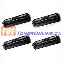 Samsung CLT-K504S - Y504S Compatible Color Toner Cartridge 4 Color Set for CLP-415N CLX-4195N C1860FW