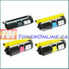 Xerox 113R00692-113R00694 High Yield Compatible Toner Cartridge 4 Color Set  for Phaser 6115MFP 6120