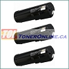 Xerox 106R02736 Black Compatible Toner Cartridges 3PK for Xerox WorkCentre 3655