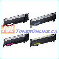 Samsung CLT-404S Compatible Toner Cartridges 4 Color Set for Samsung Xpress C430, C480